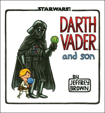 Дарт Вейдер и сын. Обложка.